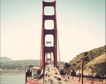 Golden Gate Bridge, San Francisco art print, art photography, California art