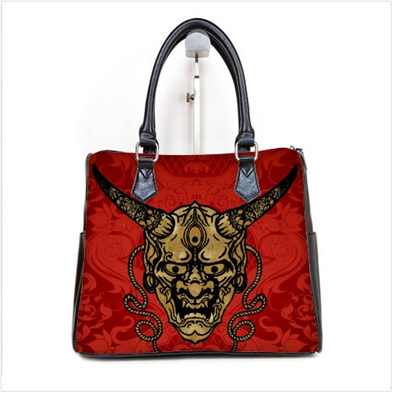 Hanya Mask Barrel Style Hand Bag