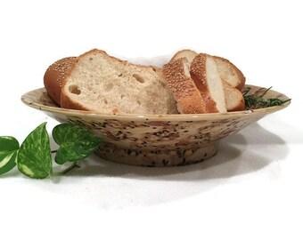 Flared Centerpiece Bowl - Salad Bowl - Bread Bowl