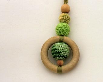 Greaan Shades Nursing Necklace Pendant / Teething Necklace