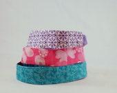 Set Of Three Reversible Doll Headbands