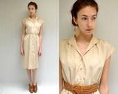 Button Down Dress //  Safari Dress // THE MOLLY