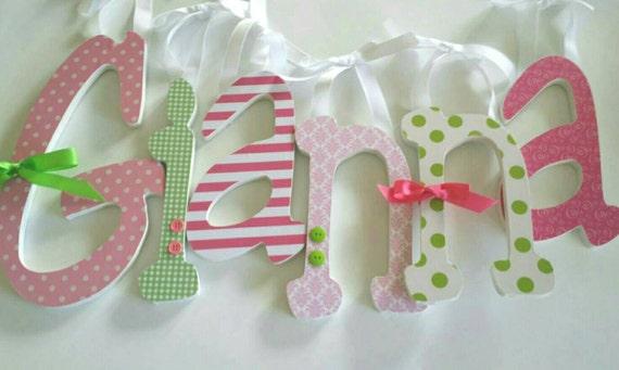 rosa und grüne thema girly kinderzimmer dekor