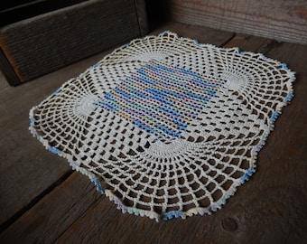 Vintage Doily Cottage Handmade Pastels Crochet Home Decor Romantic Country Living AMarigoldLife