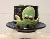 Octopus Mug with Tentacle Handle