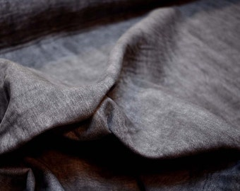 Luke Graphite Richloom Fabric REMNANT 55 inches x 6 yards
