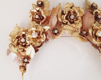La vie en rose headpiece, limited edition