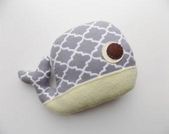 Whale plush, pillow, toy, children