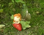 Strawberry Fairy Figurine