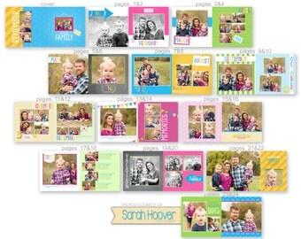 Family Album template for Photographers - 0883FA