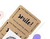 Shop Exclusive - SMILE happy mail is here - happy mail stickers