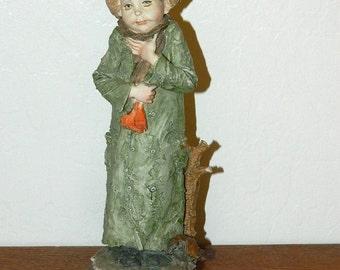 Giuseppe Armani Figurine - Winter - #3483 - 1977 Capodimonte Figurine