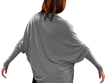 The Cocoon Shurg in Gray-Size Small