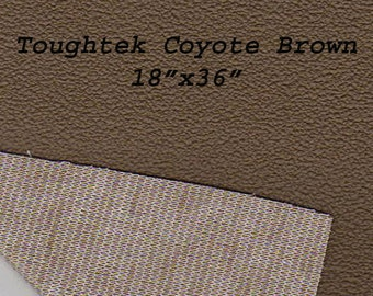Toughtek Non slip Coyote Brown Fabric 18 by 36 inches