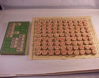 Spear's Games Lotto Game