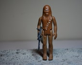 Vintage 1977 Star Wars Chewbacca Action Figure in nice condition complete w original Bow caster