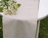 """Table runner Rustic Weddings Table Runner Linen Table Runner Rustic Table Runner  - 12 1/2"""" x 56 1/2"""""""