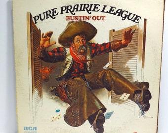 Pure Prairie League and James Gang Album Cover Purse Custom Made Vintage LP Record Album Handbag Tote