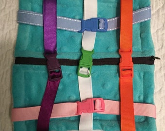 Zipper Buckle Toy