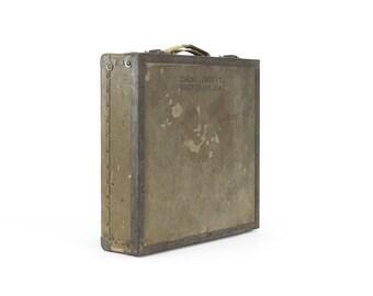 vintage military sketching case