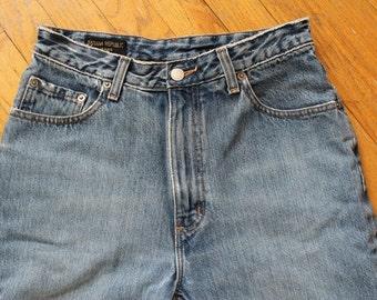 90s babe alert banana republic high waist jeans sz 8R