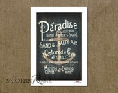 Paradise - 5x7 mini print (great for framing or sending as a card!)