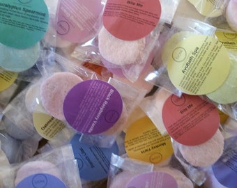 SUMMER CLEARANCE - 14 SAMPLER Lush Dupes Bath bombs in our newest fragrances, packaged 2/scent