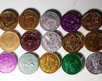 1992 Mardi Gras coins variation