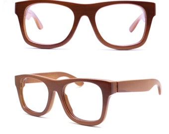 TAKEMOTO bamboo MJX1301 C04 handmade prescription brown sunglasses  eyeglasses