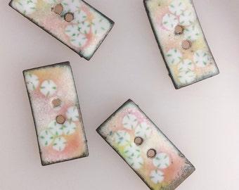 Cherry Blossom Buttons 2016 B-231,B-232