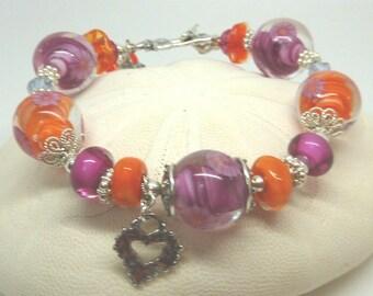 Lampwork Bracelet,