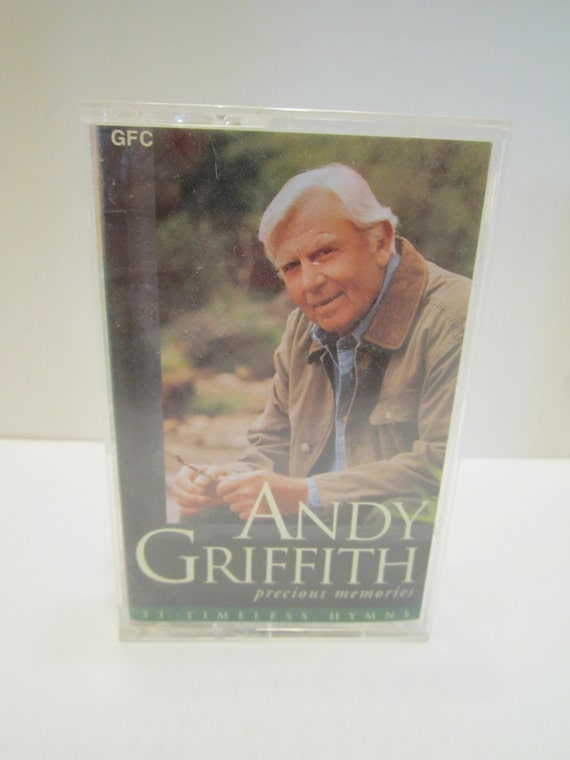 Andy Griffith Vintage Cassette Tape - Music Cassette - Country Music - Vintage Music