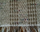Tan handwoven place mats, nice gift, made in USA