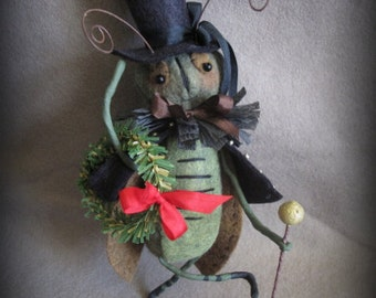 The Talking Cricket Ornament E-PATTERN by cheswickcompany