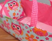 Doll Carrier, Bitty Baby Size, Bird and Owl