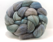 Reserved Handpainted Mixed BFL Top Spinning Fiber 4 oz