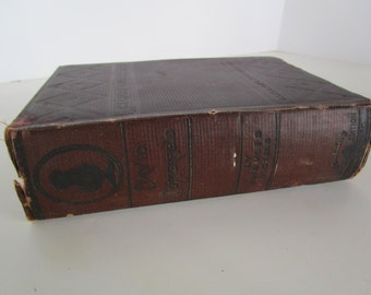 David Copperfield by Charles Dickens 1881 Carlenton's New Illustrated Edition Classic Literature Shelf Display Book