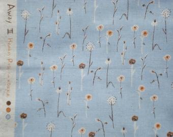 Heather Ross Far Far Away III Wildflowers blue FQ or more