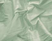 silk dupioni fabric - baby blue 100% pure silk - fat quarter sld177