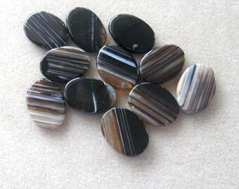 Agate Gemstone Pendants, Jewelry Making Beads,  Oval Pendants, Agate Pendants, Craft Supplies, Bead Supply, Jewelry Design Pendant Beads