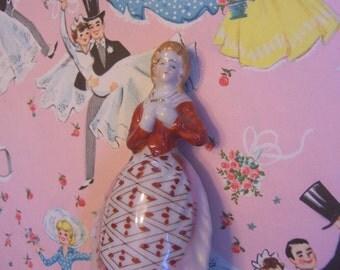 lovely vintage woman figurine