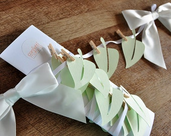 Jungle Baby Shower Decorations.  Handcrafted in 2-3 Business Days.  Leaf Garland.  Vine Garland.