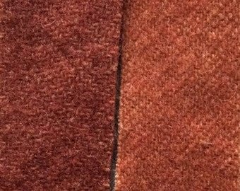 Cider - hand dyed rug hooking wool fabric -  (1) Fat Quarter (2)  values available