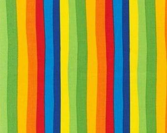 Robert Kaufman Dr. Seuss Celebrate Seuss Celebration Stripe Fabric - 1 yard