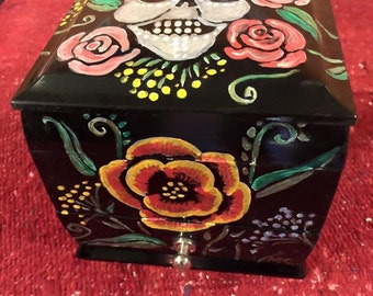 Day of the Dead Jewelry Box