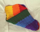 Rainbow Baby Blanket Ready to Ship