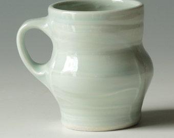 Handmade Pottery mug.  Pottery Coffee mug.
