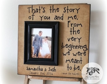 Wedding Gifts for Couple, Wedding Gifts Personalized, Wedding Gift Ideas, Personalized Wedding Gift, 16x16 The Sugared Plums Frames