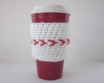 Baseball Coffee Cup Cozy