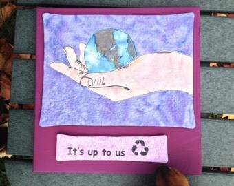 recycle art : It's up to us
